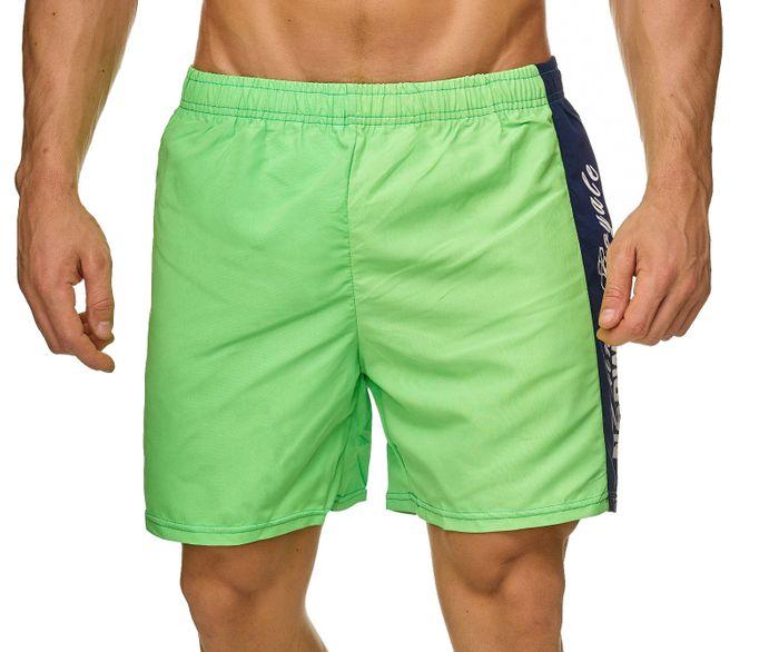 Topway Herren Badehose Bunte Bermuda Shorts Kurze Schwimmhose H2314 – Bild 11