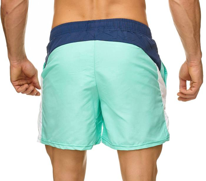 Topway Herren Badehose Bunte Bermuda Shorts Kurze Hose Schwimmen H2315 – Bild 4