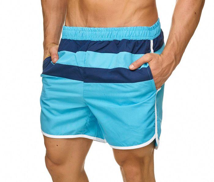 Topway Herren Badehose Bermuda Kurze Hose Shorts Bunt H2319 – Bild 12