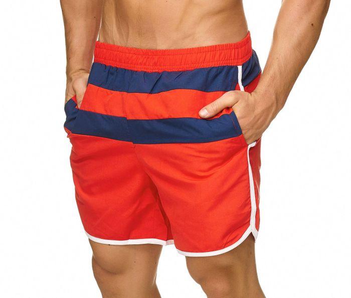 Topway Herren Badehose Bermuda Kurze Hose Shorts Bunt H2319 – Bild 3