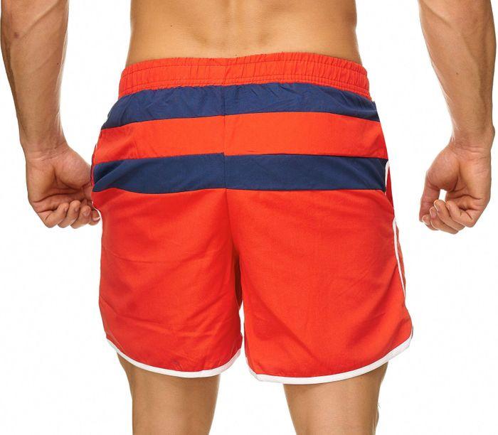 Topway Herren Badehose Bermuda Kurze Hose Shorts Bunt H2319 – Bild 4