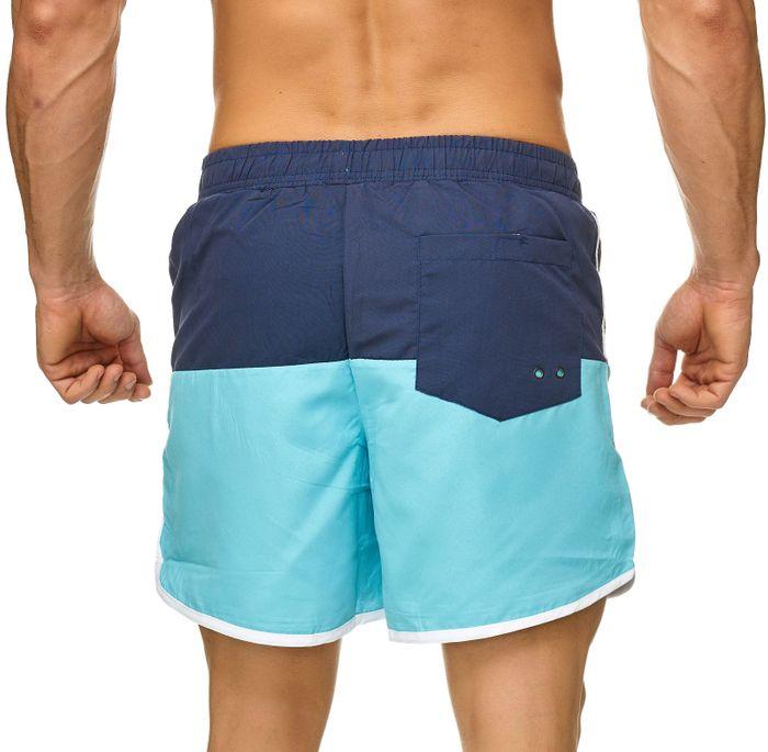 Topway Herren Badehose Kurze Bermuda Shorts Bunte Schwimmhose H2322 – Bild 7