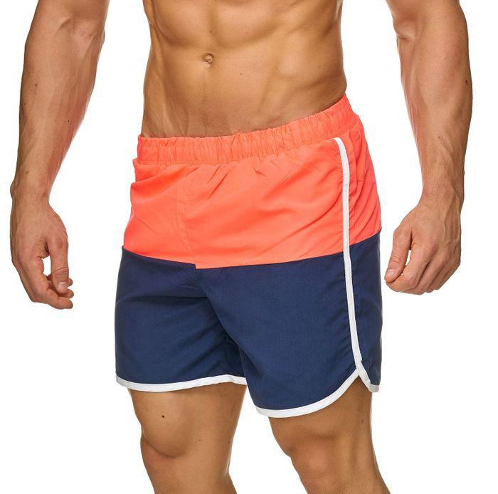 Topway Herren Badehose Kurze Bermuda Shorts Bunte Schwimmhose H2322 – Bild 3