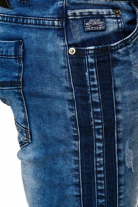 Jaylvis Herren Jeans Hose Biker Slim Fit H2333 – Bild 6