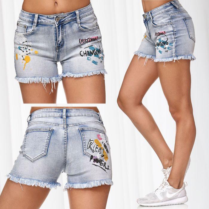 Damen Jeans Shorts RIGA