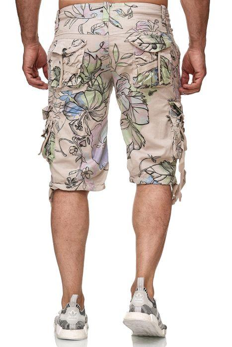 Frlendli Herren Floral Muster Kurze Bermuda Hose H2355 – Bild 4