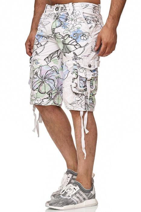 Frlendli Herren Floral Muster Kurze Bermuda Hose H2355 – Bild 11