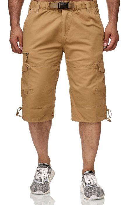 Gaok & Congs Herren Cargo Shorts Kurze Chino Bermuda Hose H2356 – Bild 10