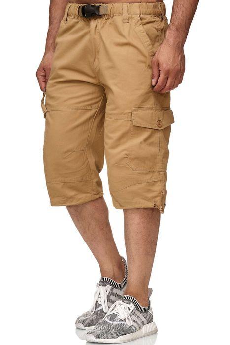 Gaok & Congs Herren Cargo Shorts Kurze Chino Bermuda Hose H2356 – Bild 11