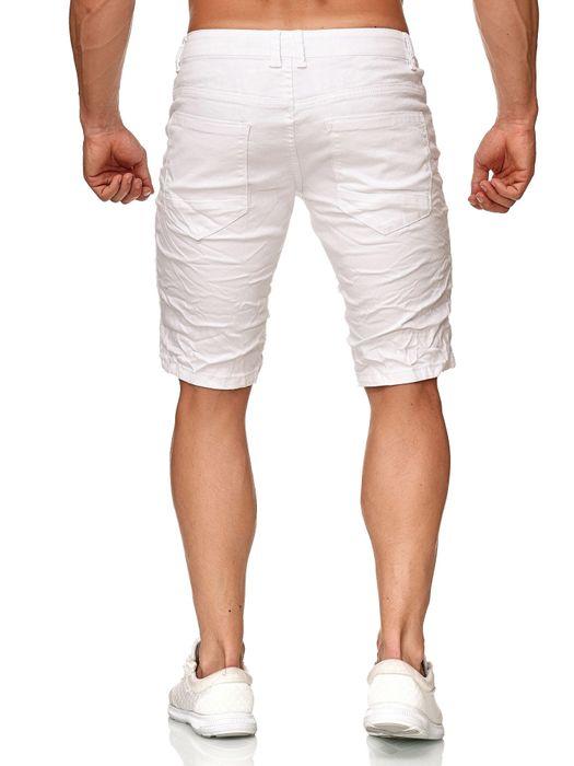 Leeyo Herren Bermuda Shorts Kurze Jeans Hose H2371 – Bild 4