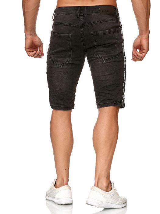 Leeyo Herren Bermuda Shorts Kurze Jeans Hose H2372 – Bild 4