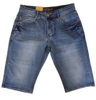 Leo Gutti Herren Jeans Shorts Kurze Capri Bermuda Hose H2382 001