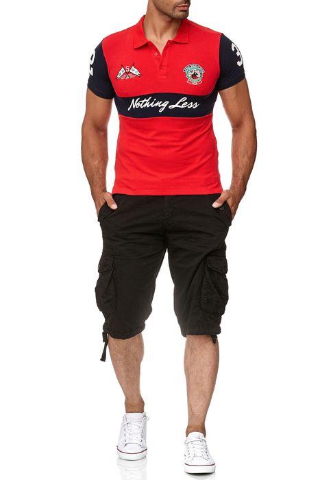 David Copper Herren Polo Shirt Kurzarm Hemd Polo T-Shirt H2386 – Bild 7