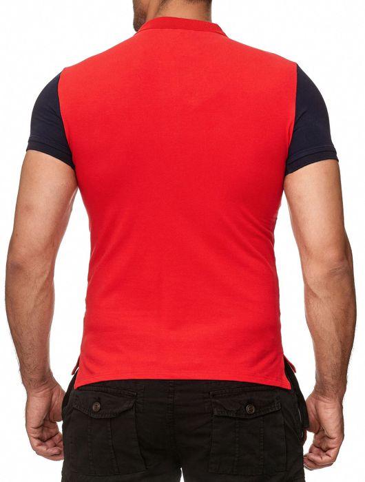 David Copper Herren Polo Shirt Kurzarm Hemd Polo T-Shirt H2386 – Bild 9