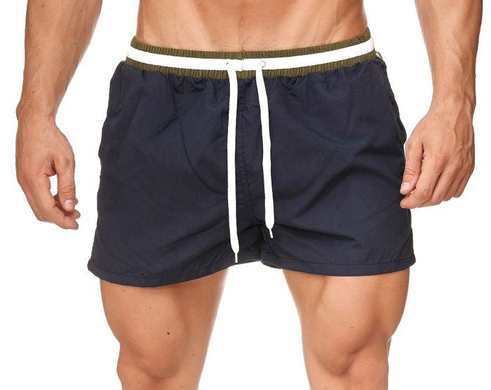 Herren Badehose Bunte Bermuda Shorts Kurze Schwimmhose H2389 – Bild 14