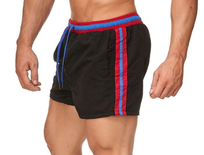 Herren Badehose Bunte Bermuda Shorts Kurze Schwimmhose H2389 – Bild 18