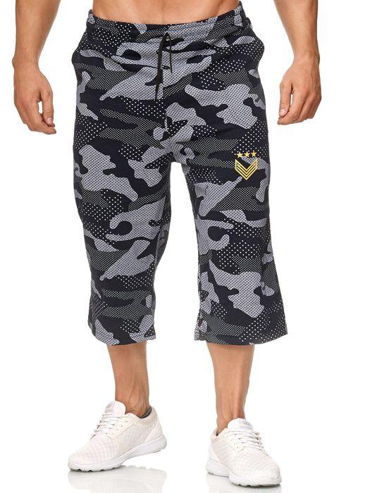 Herren Sweat Shorts Kurze Sport Jogging Hose Bermuda Pants H2391 – Bild 2