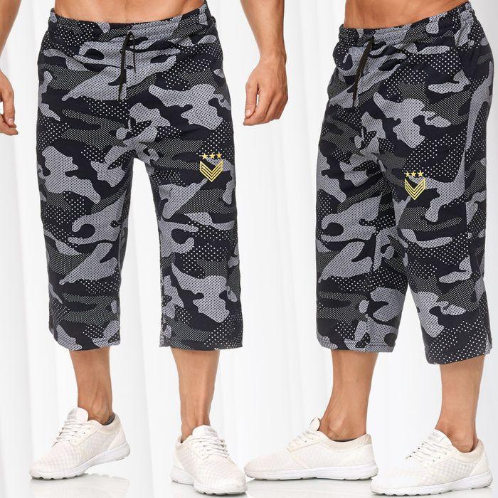 Herren Sweat Shorts Kurze Sport Jogging Hose Bermuda Pants H2391 – Bild 1