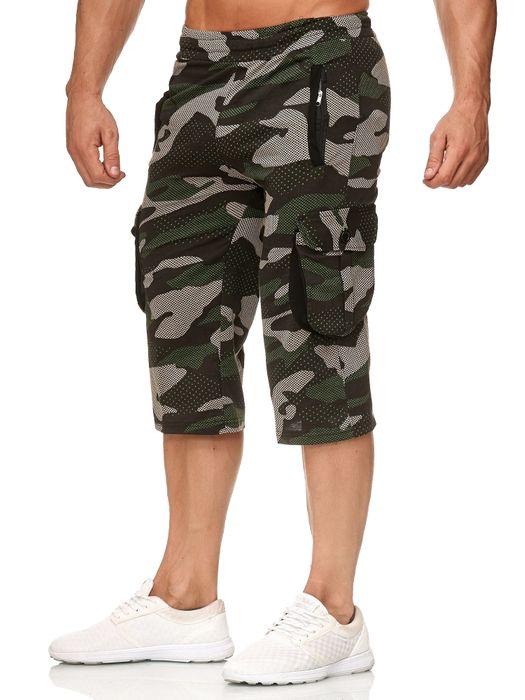 Herren Cargo Shorts Sweat Bermuda Hose Sport Pants H2392 – Bild 7