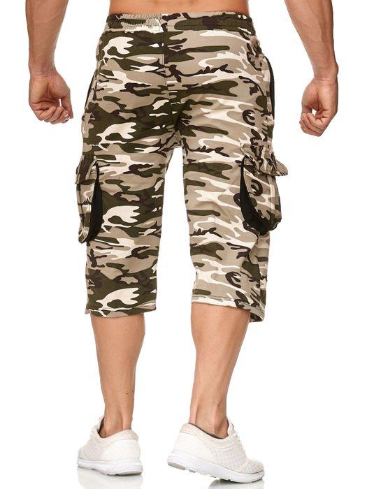Herren Cargo Shorts Sweat Bermuda Hose Sport Pants H2392 – Bild 20