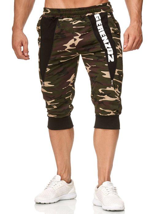 Herren Sweat Shorts Kurze Bermuda Pants Sport Jogging Hose H2393 – Bild 11