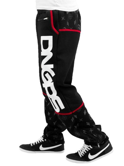 Dangerous DNGRS Herren Sweat Pants Crosshair Jogging Hose H2394 – Bild 3