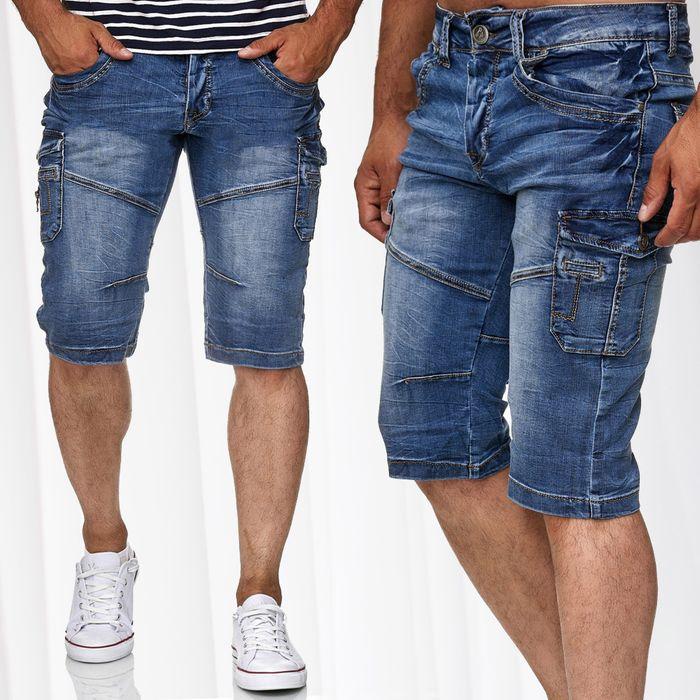 Herren Jeans Shorts NICOLÁS