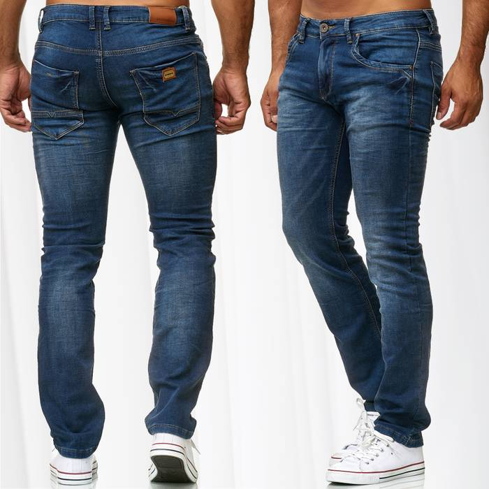 Herren Jeans Slim Fit BLUEBOO