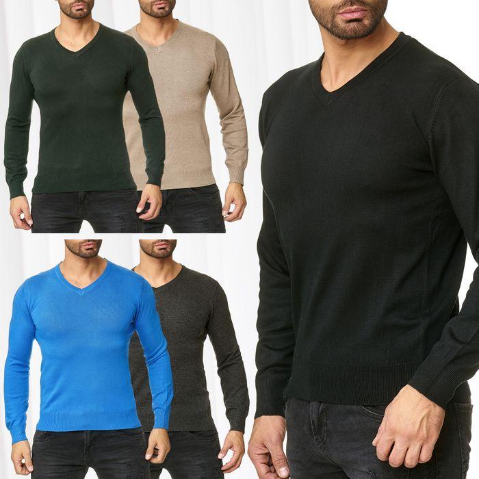 Herren Strick-Pullover UGO