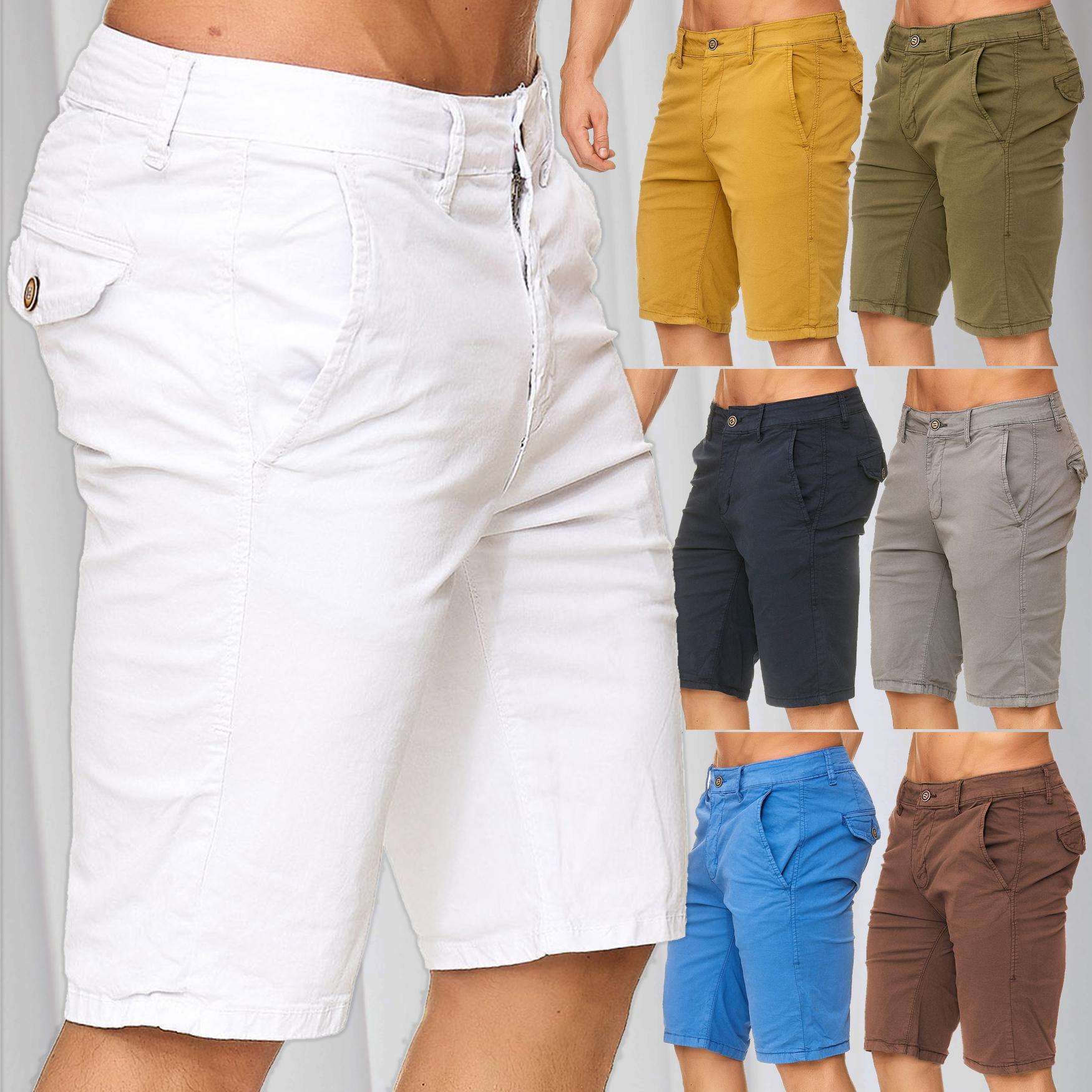 Men's Chino Shorts Summer Pants Bermuda short trousers designer casual  vintage   eBay