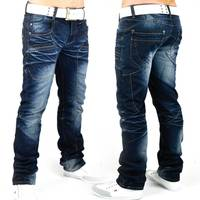 Herren Jeans Big-G-START ID607 Slim Fit (Gerades Bein)