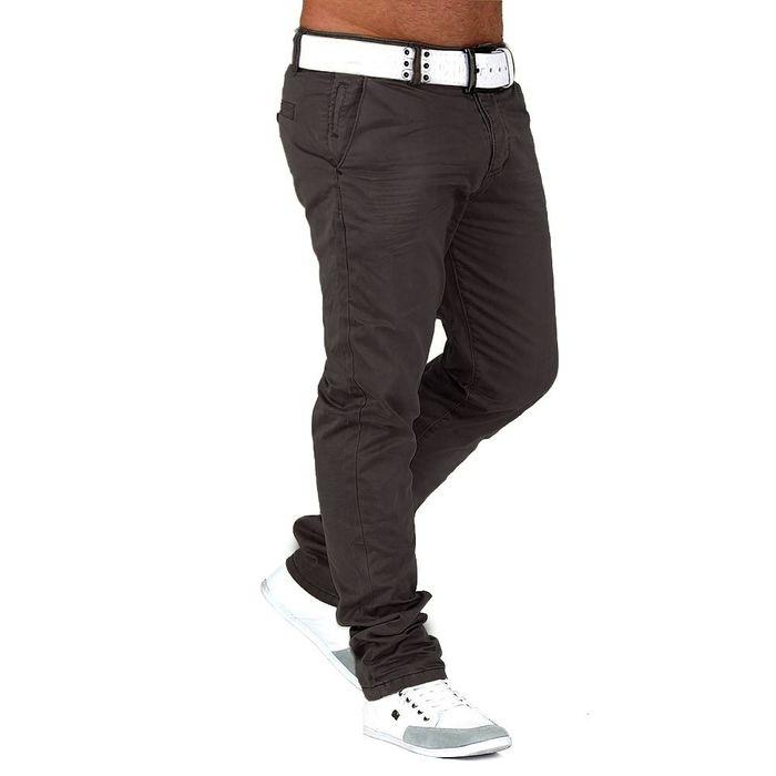 Herren Chino Hose Slim Fit Jeans Straight Leg H645 – Bild 9