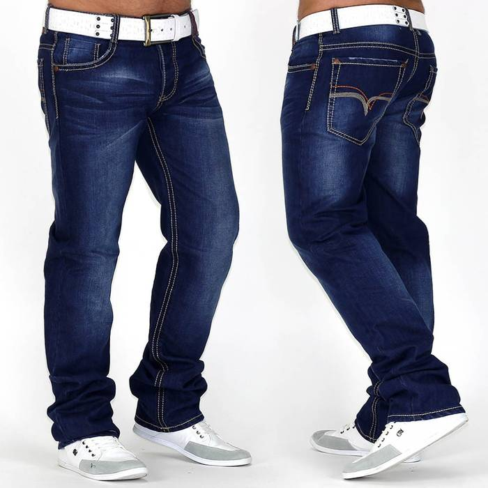 Herren Jeans Royal Flush ID666 Straight Fit (Gerades Bein)
