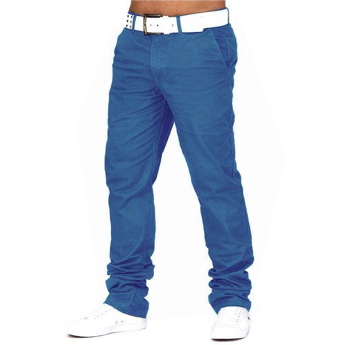 Herren Chino Hose Jeans Stoff-Hose H688 – Bild 18