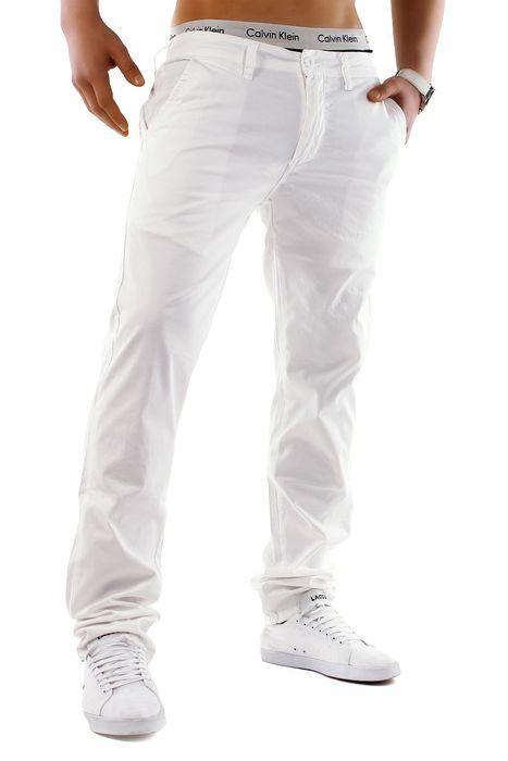 Herren Chino Hose Jeans Stoff-Hose H688 – Bild 15