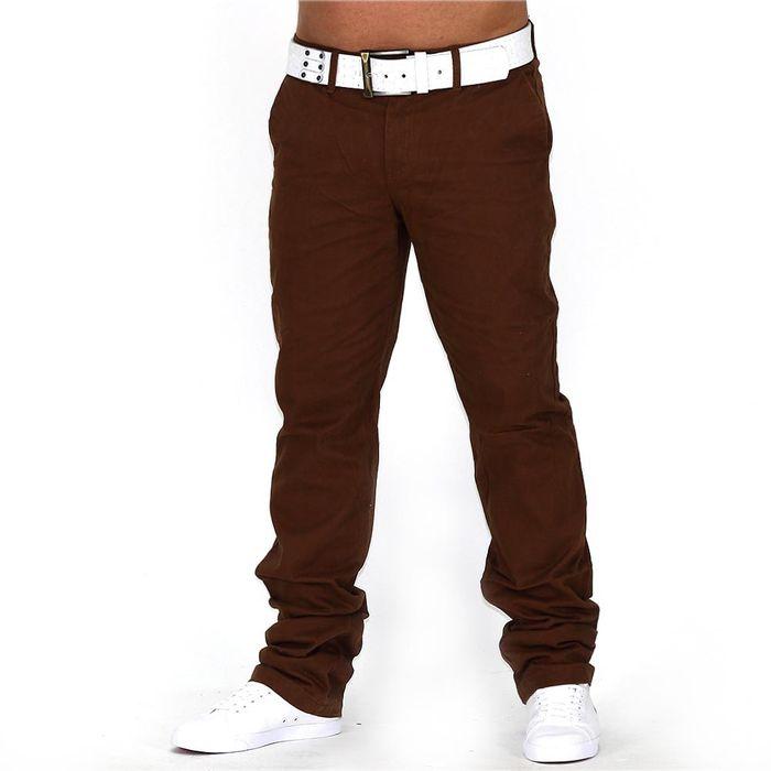 Herren Chino Hose Jeans Stoff-Hose H688 – Bild 5