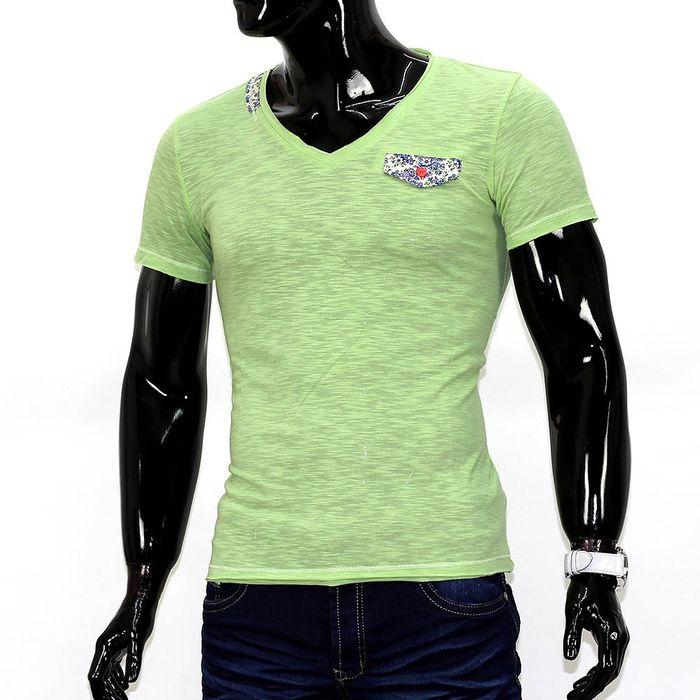 Herren T-Shirt Pastel ID689 – Bild 2