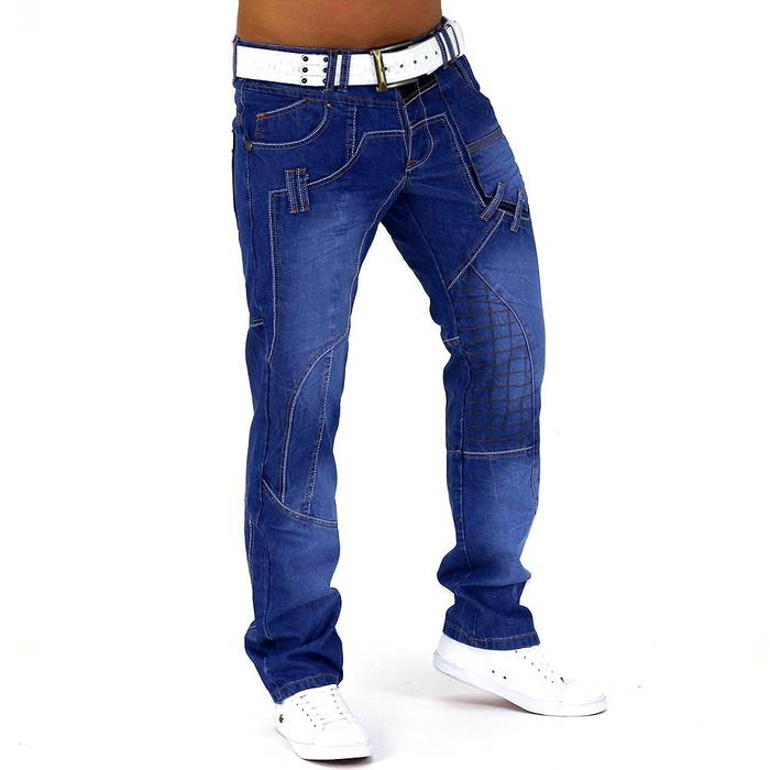 Herren Jeans Lucky Aces ID728 Slim Fit (Gerades Bein) – Bild 3