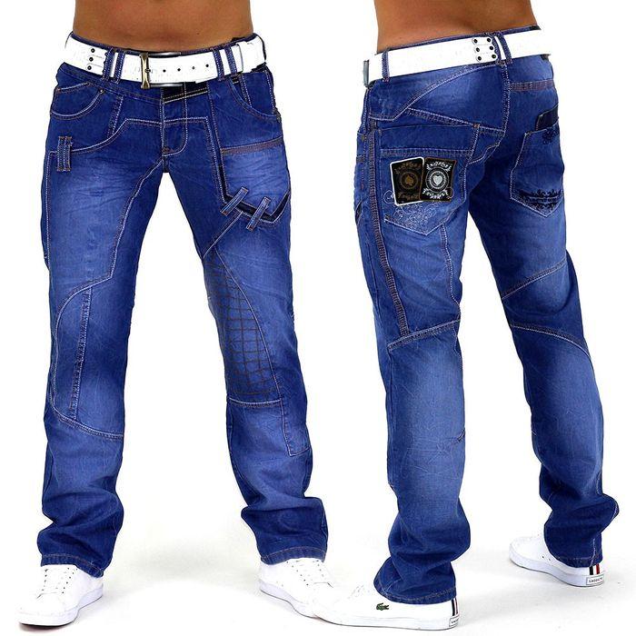 Herren Jeans Lucky Aces ID728 Slim Fit (Gerades Bein)