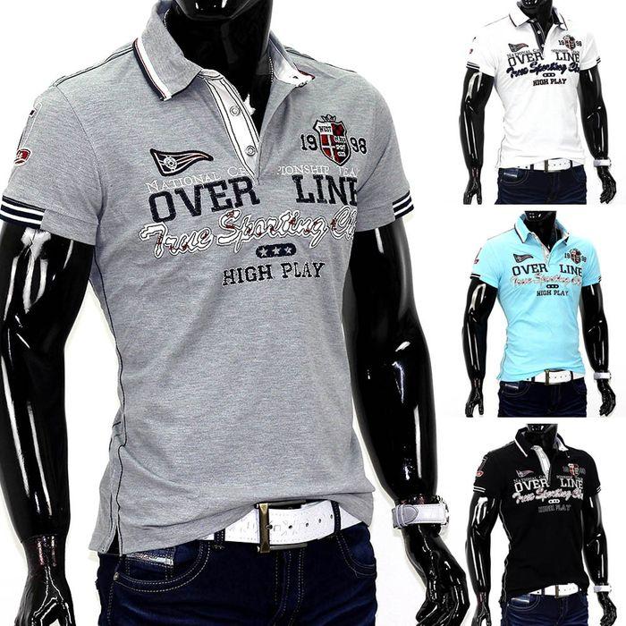 Herren Poloshirt Luxury ID734