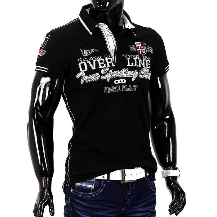 Herren Poloshirt Luxury ID734   – Bild 5