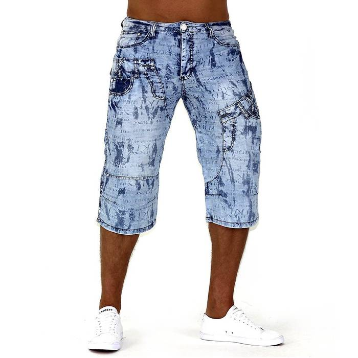 Herren Shorts Denim Smoove ID740 – Bild 4