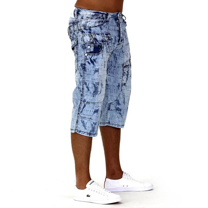 Herren Shorts Denim Smoove ID740 – Bild 3