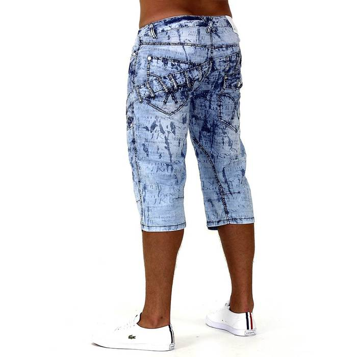 Herren Shorts Denim Smoove ID740 – Bild 5