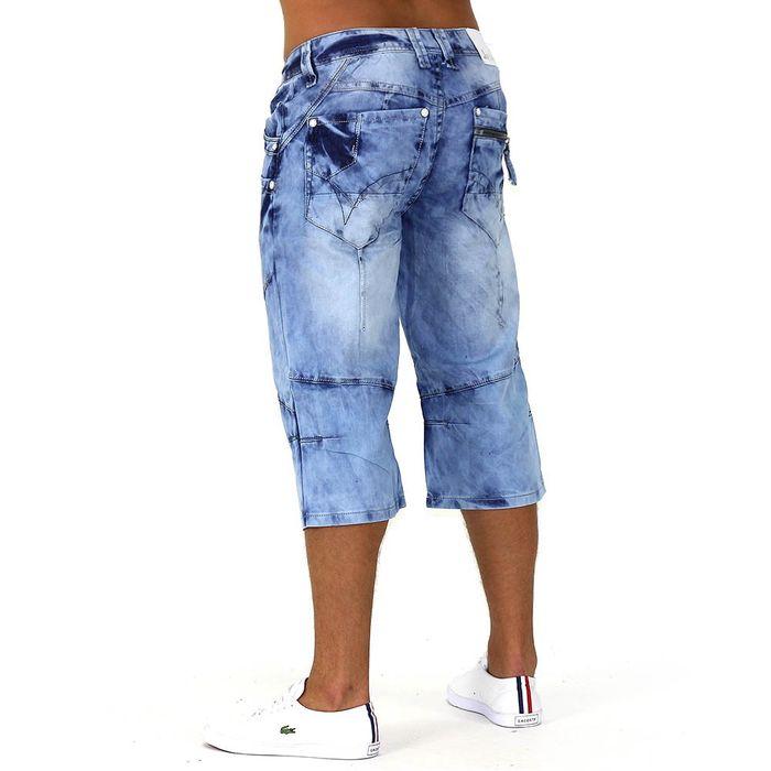 Herren Shorts Blue Curacao ID744 – Bild 5
