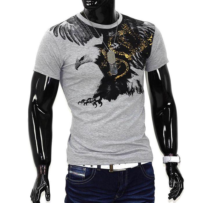 Herren T-Shirt Flying Eagle ID985 – Bild 3