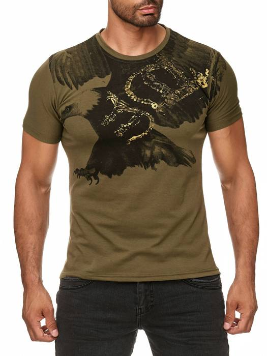 Herren T-Shirt Flying Eagle ID985 – Bild 8