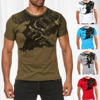 Herren T-Shirt Flying Eagle ID985