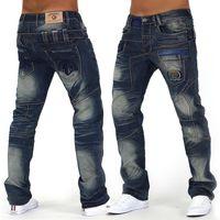 Herren Jeans JustCrazy ID992 Regular Fit (Gerades Bein)