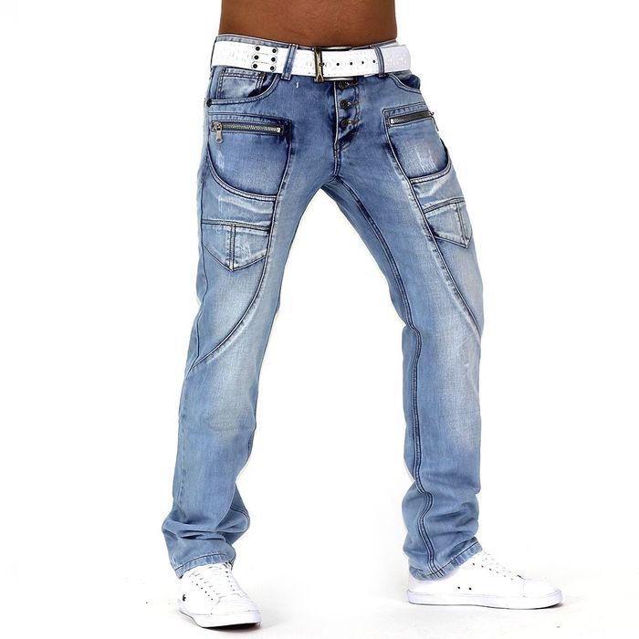 Herren Jeans Thunderstorm ID995 Regular Fit (Gerades Bein) – Bild 2